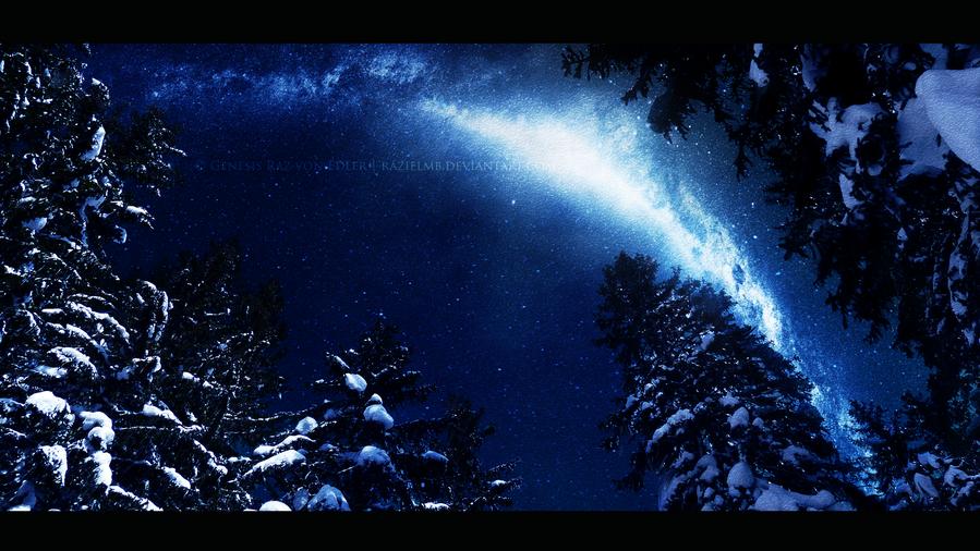 The Milky Way by RazielMB
