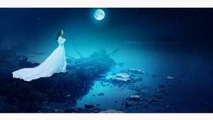The bride Moon by Ellysiumn