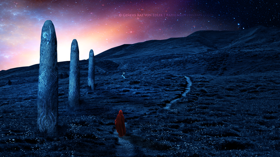 The path of the monoliths by RazielMB