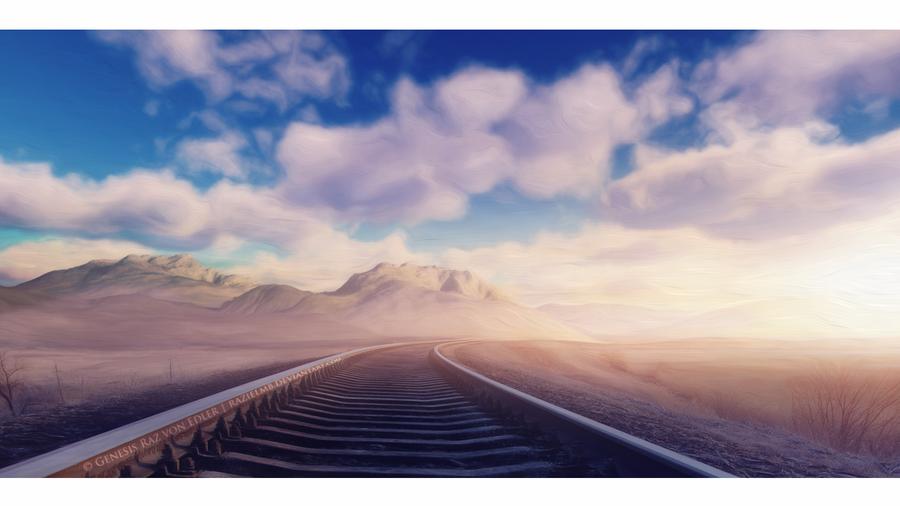 Last train track by RazielMB