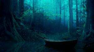 Haunted Forest II by Ellysiumn