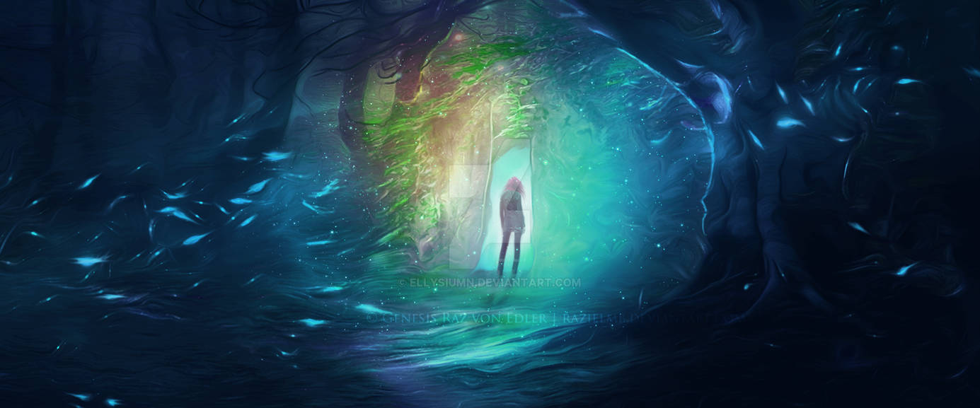 Entrance to the unknown by Ellysiumn