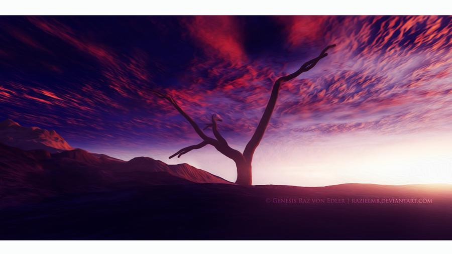 The giant tree by RazielMB