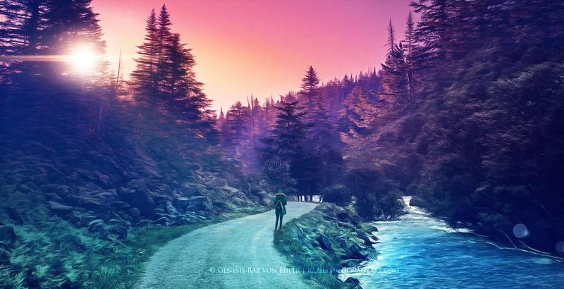 Two ways by Ellysiumn