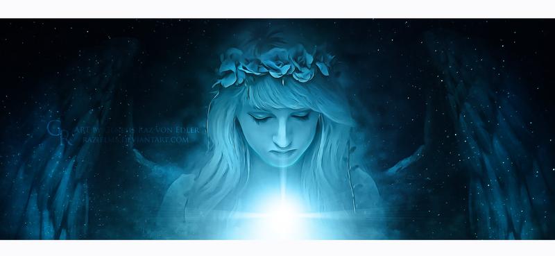 Angel prayer by Ellysiumn
