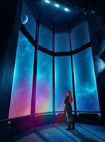 Space rainbow by Ellysiumn