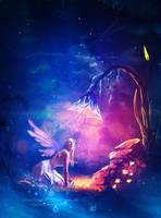 Magic whispers by Ellysiumn