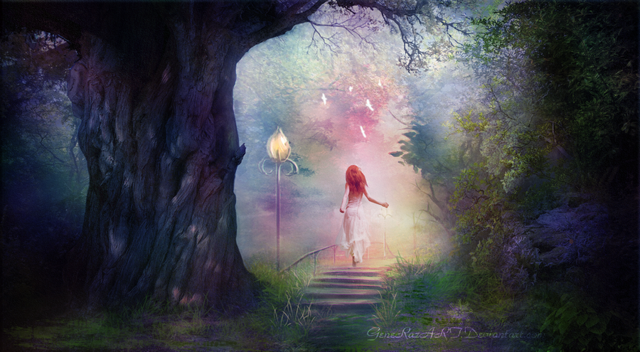 The Enchanted Forest By Generazart On Deviantart