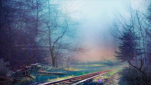 Mystical forest by Ellysiumn