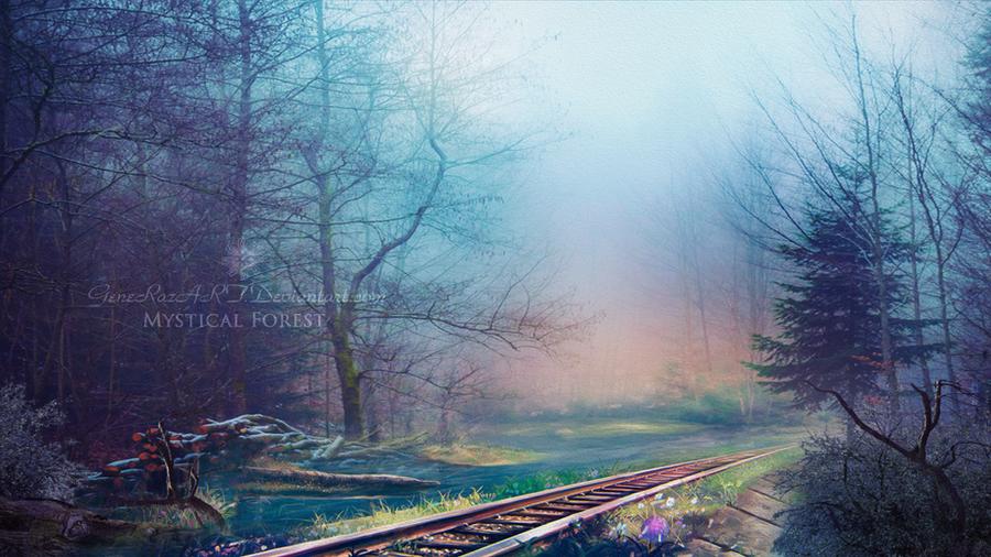 Mystical forest by GeneRazART