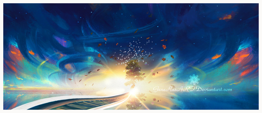 Path of life by Ellysiumn