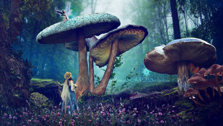 Alice in Wonderland by Ellysiumn