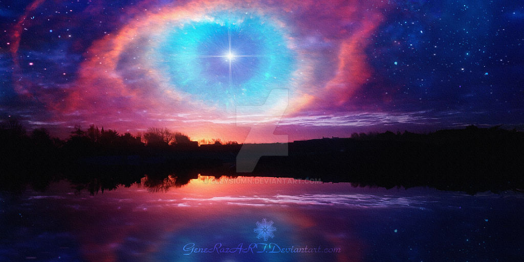 Eye of God by Ellysiumn