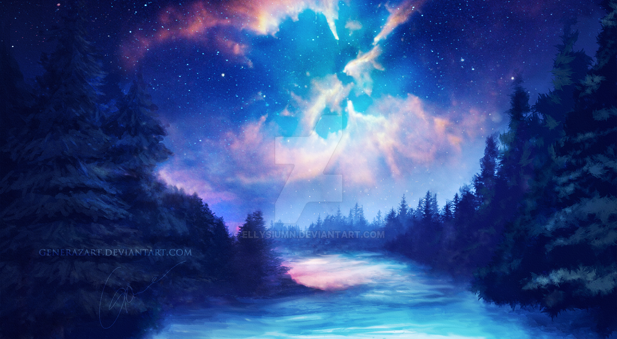 Winterfarben by Ellysiumn
