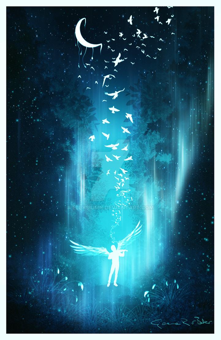 Angel of music by Ellysiumn