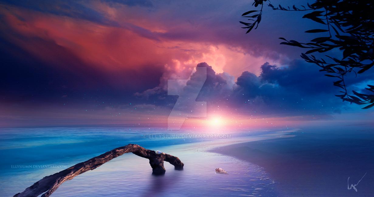 Eternal beach 4K by Ellysiumn