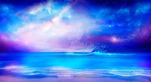 Starry beach