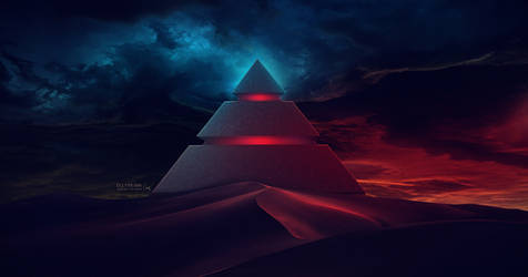 The Pyramid #Daily 1 by Ellysiumn