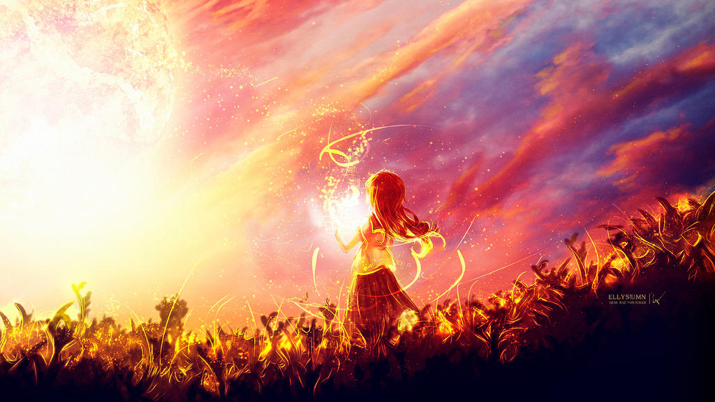 The sun girl #Daily 12 by Ellysiumn
