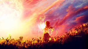 The sun girl #Daily 12