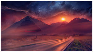 Land of Pyramids by Ellysiumn