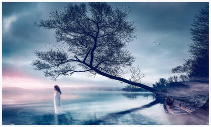 The Lady of the lake by Ellysiumn