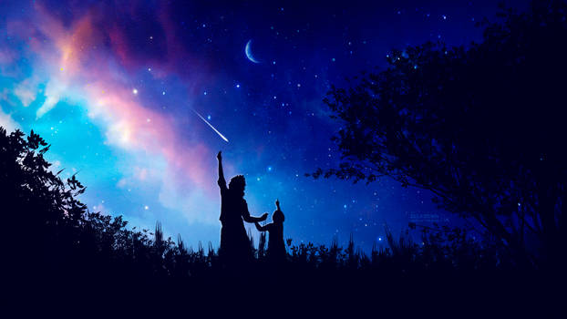 Wish night by Ellysiumn