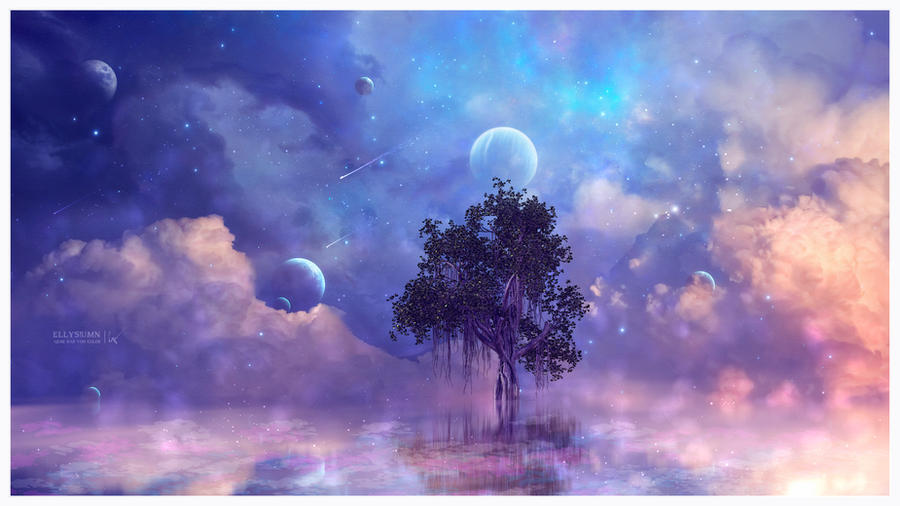 Dreamy tree by Ellysiumn