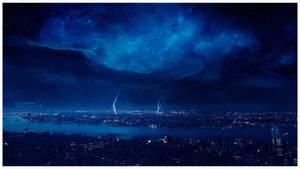 Ominous storm by Ellysiumn