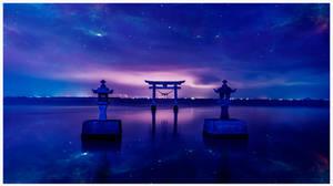 Zen night by Ellysiumn
