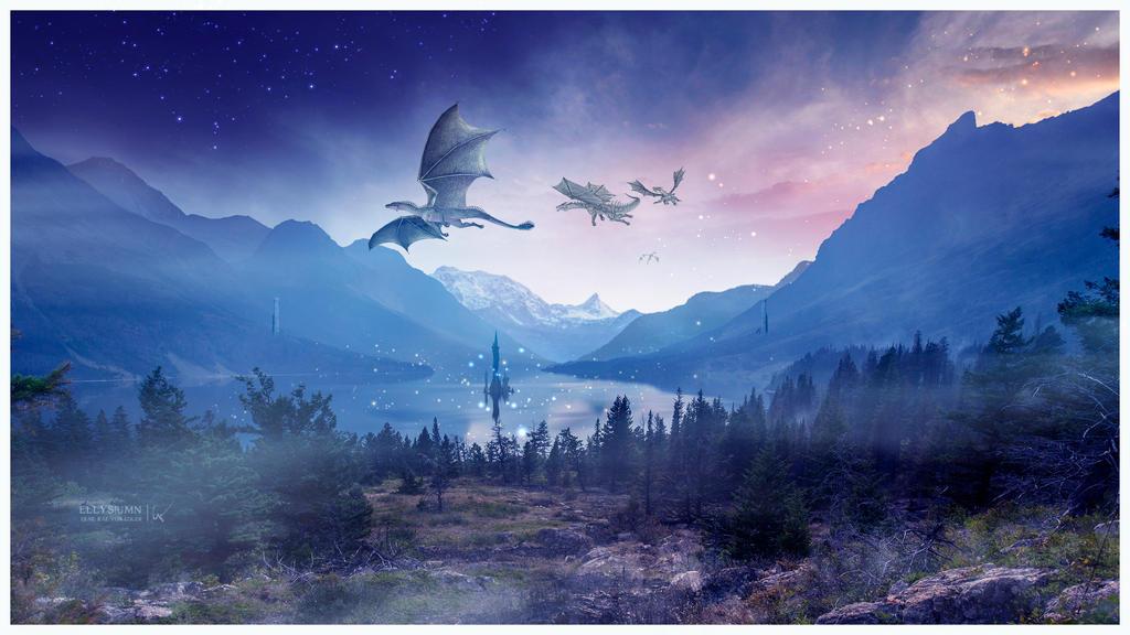 Land of Dragons by Ellysiumn