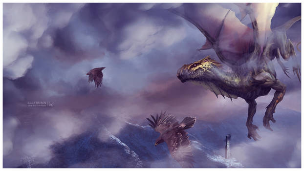 Flying with friends ~ Dragon's Land