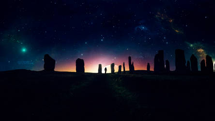The whispers of the monoliths by Ellysiumn