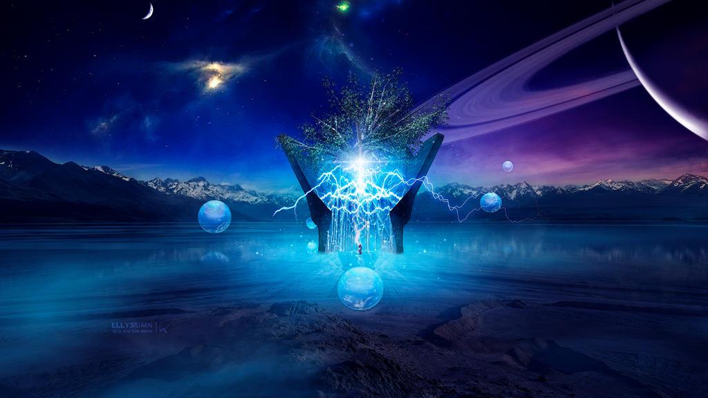 The Wisdom Tree by Ellysiumn