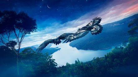 Eagles dance by Ellysiumn