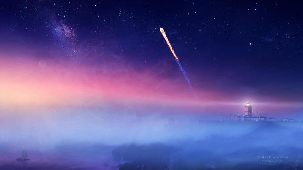 Rocket to Infinity by Ellysiumn