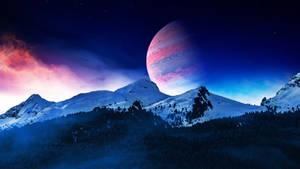 Snowy peaks by Ellysiumn