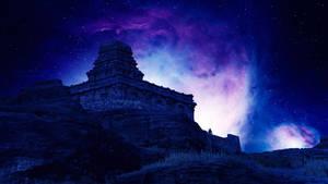 Cosmic meditation by Ellysiumn