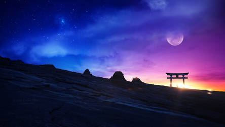 Gate of the sun by Ellysiumn