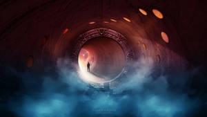 Universe Gate by Ellysiumn