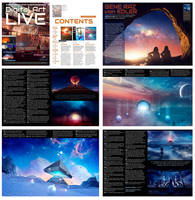 Digital Art Live magazine interview by Ellysiumn