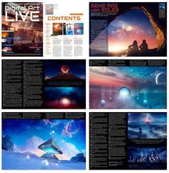 Digital Art Live magazine interview