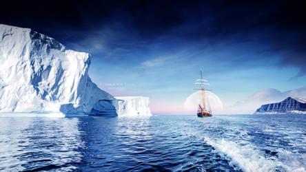 Arctic Moon by Ellysiumn