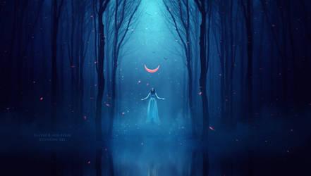 The priestess by Ellysiumn