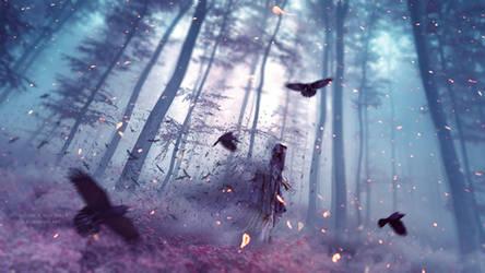 Crow Spirit by Ellysiumn