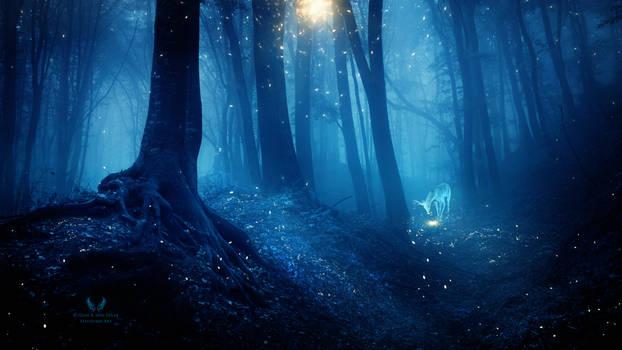 The deer dream by Ellysiumn