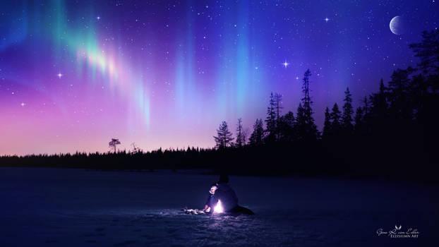 Phosphorescent night by Ellysiumn