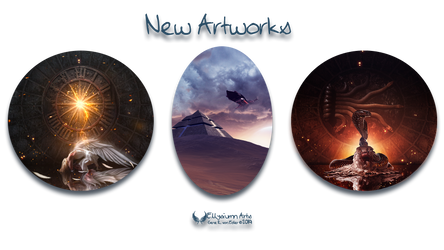 New artworks III by Ellysiumn