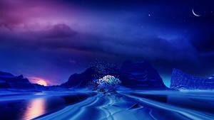 Enchanting blues by Ellysiumn