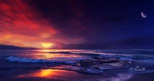 Sun and Moon by Ellysiumn
